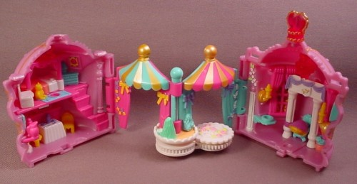 Polly Pocket 1995 Crown Palace #17909, Faberge Egg Style