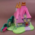 Polly Pocket 1995 Disney Cinderella Stepmother's House, #14195, Closet Doors Open