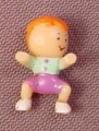 Polly Pocket 1994 Tessa Baby Doll Figure, From Pollyville Nursery School #951471 or #11988