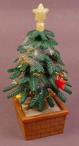 calico critters christmas tree with light up star from santa tree holiday set cc2587