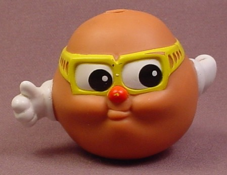 Potato Head Kids Peeler Figure, 1986 Playskool, Rarest, Was Only Available By Mail Order