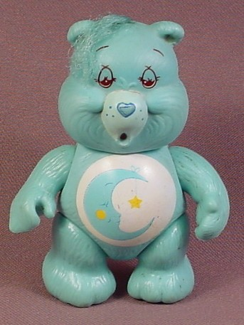 Care Bears Bedtime Poseable PVC Figure, 3 3/4 Inches Tall, 1983 Kenner ACG