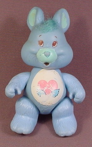 Care Bears Swift Heart Poseable PVC Figure, 4 Inches Tall, 1985 Kenner ACG