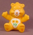 Care Bears Friend Bear In Sitting Pose PVC Figure, 1 5/8 Inches Tall