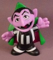 Sesame Street Young The Count With Arms Spread Wide PVC Figure, 3 1/4 Inches Tall, 2011