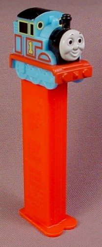 Pez Thomas The Tank Engine, Pez Candy Dispenser, Red Stem