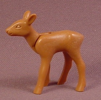 Playmobil Baby Deer Fawn Animal Figure, The Head Moves, 3243 3942 4056 4155  4166 4208 5004 6817 7463