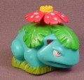 Burger King 1999 Pokemon Venusaur Rolling Figure Toy, 2 3/8 Inches Long