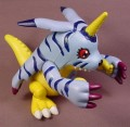 Digimon Talking Gabumon Action Figure, 4 1/4 Inches Tall, 1999 Bandai, Has Been Tested