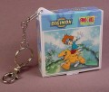 Digimon Puzzle In Keychain Case, When Made Up The Puzzle Is 4 1/2 By 3 1/2 Inches