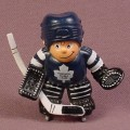 Lil Sports Brat NHL Hockey Player PVC Figure, Goalie, Toronto Maple Leafs, Goaltender, 1988