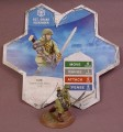 Heroscape Sgt Drake Alexander Figure, 1 1/4 Inches Tall, Swarm Of The Marro