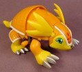 Digimon Wind Up Armadillomon Action Figure, 5 Inches Long, 2001 Bandai