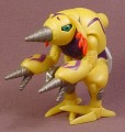Digimon PVC Figure, 2 3/4 Inches Tall, 2000 Bandai, Action Feature Series