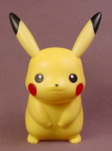 Pokemon Pikachu Figure With Light Up Cheeks 3 1 2 Inches