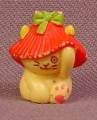Charmkins Poppy Figure, 3/4 Inch Tall, 1983 Hasbro, Vintage, The Loop Is Broken