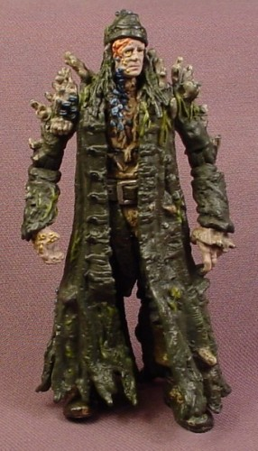 Disney Pirates Of The Caribbean Bootstrap Bill Turner Action Figure, 4  Inches Tall, 2006 Zizzle