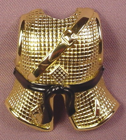 TMNT Clip On Banzai Breastplate Chest Armor Accessory For A Ninja Action Michelangelo