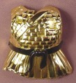 TMNT Clip On Banzai Breastplate Armor Accessory For A Ninja Knights Leonardo, 2004