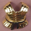 TMNT Clip On Segmented Breastplate Armor Accessory For A Ninja Knights Raphael, 2004