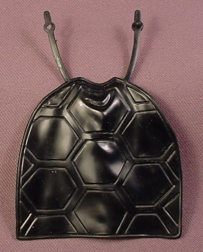 TMNT Black Cape Accessory For A Shell Slammin' Mike Action Figure, 1991 Playmates