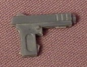 TMNT Gray Pistol Weapon Accessory For An April O'Neil Action Figure, 1988 Playmates