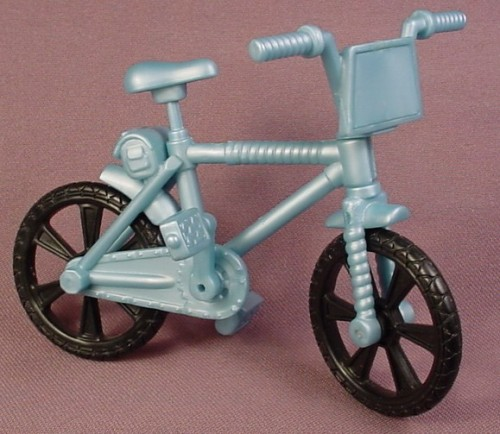 TMNT BMX Bicycle Bike Accessory For A Biker Don Action Figure, 2003 Playmates