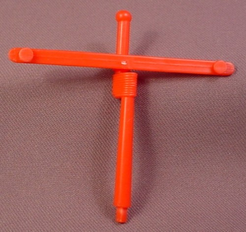 TMNT Replacement Mast For A Leo's Jolly Turtle Tubboat Vehicle, 1991 Playmates