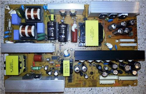 LG 37LT75 LCD TV Replacement Capacitors, Board not Included.