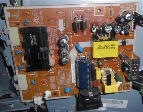 Samsung Syncmaster 743BX LCD Monitor Replacement Capacitors, Board not Included.