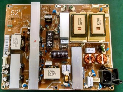 Samsung LN52C530F1FXZA, LCD TV Replacement Capacitors, Board not Included.