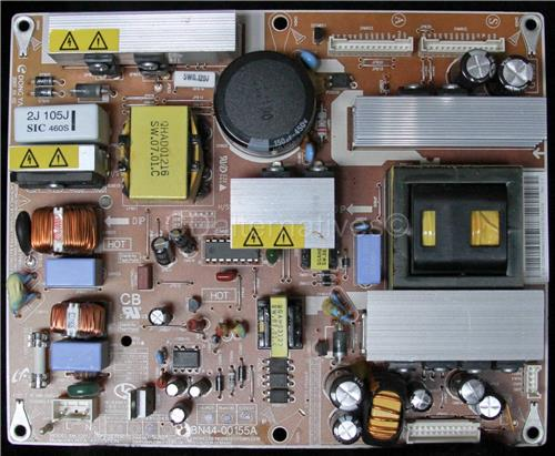 Samsung LN-T2632HXXAA, LCD TV Replacement Capacitors, Board not Included.