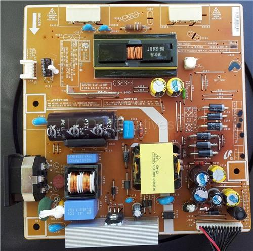 Samsung 2443BWT, LCD Monitor Replacement Capacitors, Board not Included.