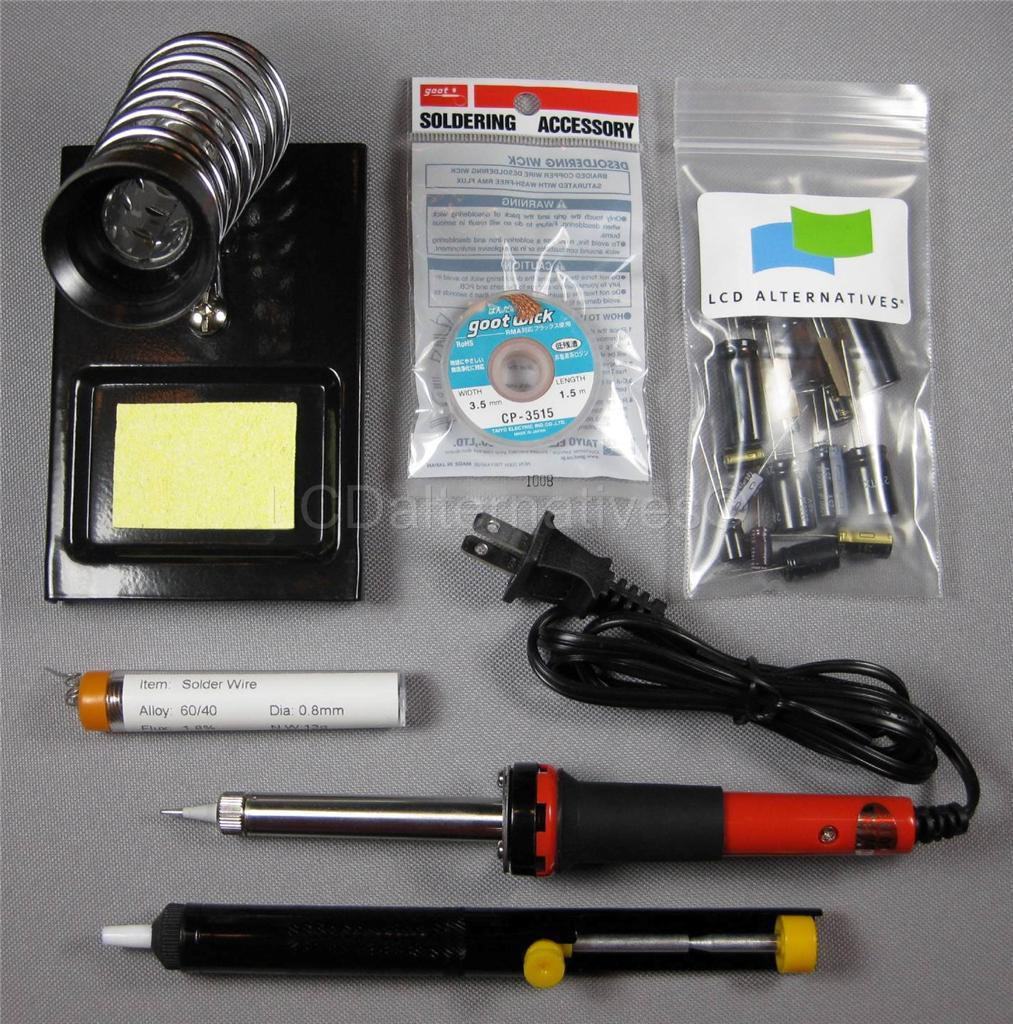 LG 37LC7D LCD TV Complete Repair Kit, v2 PLUS 11 Capacitors, board not included
