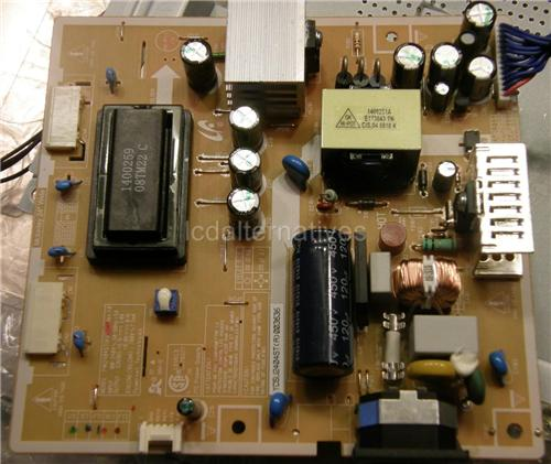 LCD Monitor Not The Entire Board Capacitors Repair Kit Samsung 932B