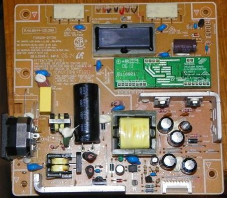 Samsung Syncmaster 740n Rev2, LCD TV Repair Kit, Capacitors Only, Not the Entire Board