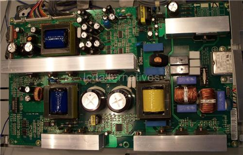 LG 37LP1D, LCD TV Repair Kit, Capacitors Only, Not the Entire Board