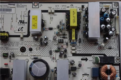 Repair Kit, Samsung LA40S71B, LCD TV, Capacitors Only, Not the Entire Board._Img