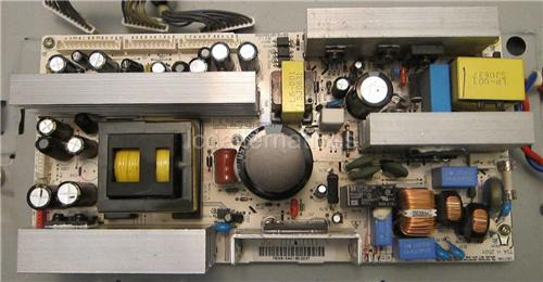LG 37LC2D-UD, LCD TV Repair Kit, Capacitors Only, Not the Entire Board