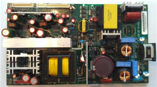 LG 26LX1D, LCD TV Repair Kit, Capacitors Only, Not the Entire Board