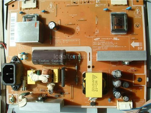 Samsung T1953h, LCD Monitor Repair Kit, Capacitors Only, Not the Entire Board