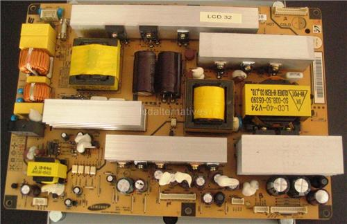 Samsung 320P, LCD Monitor Repair Kit, Capacitors Only, Not the Entire Board