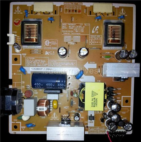 Samsung T200, LCD Monitor Repair Kit, Capacitors Only, Not the Entire Board