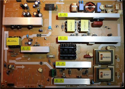 Samsung LN46A530P1F, LCD TV Repair Kit, Capacitors Only, Not the Entire Board