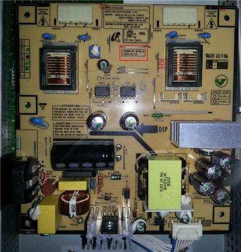 Samsung 226BW-VE REV 0.0, LCD Monitor Repair Kit, Capacitors Only, Not the Entire Board