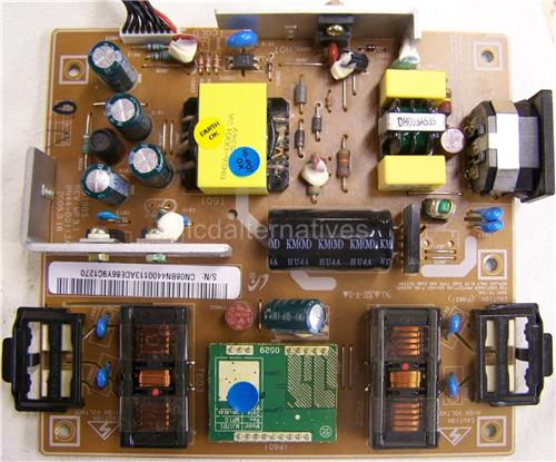 Samsung 914V N, LCD Monitor Repair Kit, Capacitors Only, Not the Entire Board