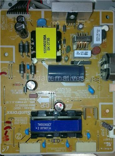 Samsung 943BW, LCD Monitor Repair Kit, Capacitors Only, Not the Entire Board