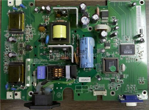Dell E173FPf, LCD Monitor Repair Kit, Capacitors Only, Not the Entire Board