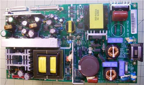 LG 32LX1D, LCD TV Repair Kit, Capacitors Only, Not the Entire Board