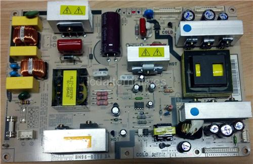 Samsung LN-R268W, LCD TV Repair Kit, Capacitors Only, Not the Entire Board